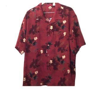 Arrow 100% silk shirt XL